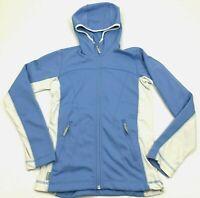Columbia TITANIUM Full Zip Hoodie Jacket Women's Size XS Baby Blue Fleece Lined
