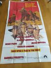ONCE UPON A TIME IN THE WEST 1969 SERGIO LEONE ORIGINAL US POSTER 3SH RARE