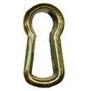 "Keyhole Insert, Cast Solid Brass, 3/4"" High, E-1B"