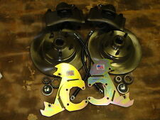 "1970 71 72 1973 FORD MUSTANG LARGE 11.3"" FRONT DISC BRAKES FITS drum spindles"