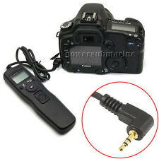 NEW Timer Remote Control for Canon EOS 1100D 600D 60D 550D 450D 1000D