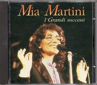 MIA MARTINI CD I grandi successi 1992 MADE in ITALY fuori catalogo