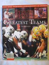 Sports Illustrated Greatest Teams By Tim Crothers 1998 1st Printing