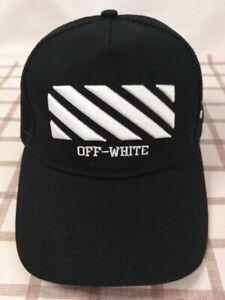 NEW Off White Cap Sport Baseball Hat outdoor Adjustable Men Women Style Black