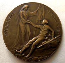 1914 Belgium World War I Wounded Soldier / Bronze Medal / JOURDON / 65 mm / N147