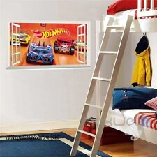 Bedroom Cars Vinyl Wall Stickers