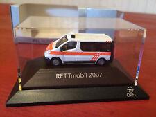 Rietze 1/87 HO Scale White & Orange Opel Vivaro Emergency Vehicle in Box!!