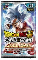 Dragon Ball Super Card Game ! Booster Colossal Warfare BT4/VF !