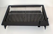 "EasyChef Wood/Charcoal Built In BBQ Counter-Top Grill 24"" - w/ SS Cooking Grids"