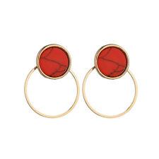 Elegant Women Geometric Pendant Dangle Drop Statement Earrings Jewelry Gift