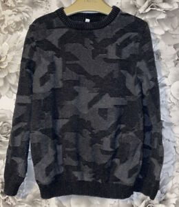 Boys Age 7-8 Years - M&S Fine Knit Jumper - Cotton
