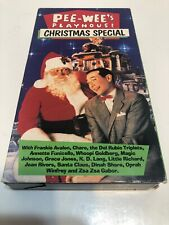 Pee-Wees Playhouse Christmas Special VHS Annette Funicello Frankie Avalon Herman