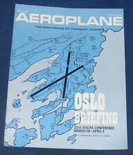 AEROPLANE APRIL 3 1968 - OSLO BRIEFING
