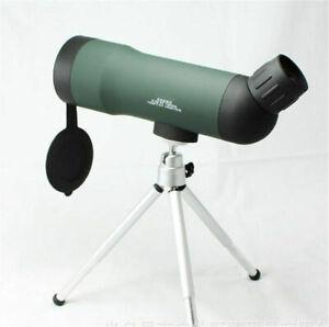 20x50 Birdwatching Telescope Lens Monocular Green Film with Tripod