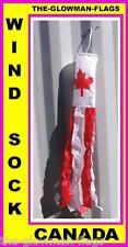 Canada flag wind sock Canadian garden wind sock outdoor windsock NOT kite