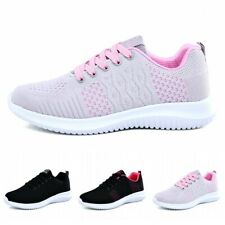 Sports Sneaker Womens Breathable Low Top Outdoor Running Shoes Fitness Walking B