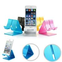 Universal Aluminum Cell Phone Desk Stand Holder For Tablet ipad iPhone Samsung