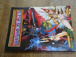 Softcover Warhammer Fantasy Deutsch- Super Zustand Armeebuch Dunkelelfen