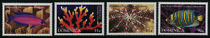 Dominica 2081-8 MNH International Year of the Ocean, Fish, Whale, Coral, Turtle