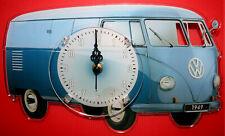 Horloge pendule voiture combi volkswagen 1 clock uhr reloj car auto carro