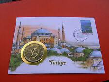 *Numisbrief 1994 Türkei mit 100 Lira Münze 1982 *