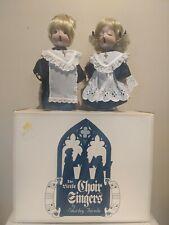 The Little Choir Singers Dolls By Shirley Favela Porcelain Dolls #205 of 2000