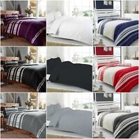 THERMAL 100% BRUSHED COTTON FLANNELETTE DUVET COVER BED SET COSY WARM SOFT