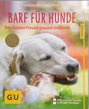 BARF für Hunde Den besten Freund gesund ernähren GU Tierratgeber Kohtz-Walkmeier