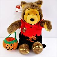 Disney Store Winnie the Pooh Halloween Werewolf 12 Inch Pooh