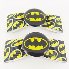 BATMAN Fiocchi Per Capelli Dc Super Eroe Cavaliere Oscuro Emo Punk JUSTICE LEAGUE Cosplay BAT