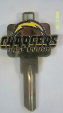 NFL San Diego Chargers 3D Kwikset key blank