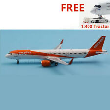 (Very Rare)1:400 PandaModel BOX18030 EasyJet A321neo G-UZMB +Free Tractor