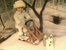 American Girl Label  Snow Flurry Outfit and Dog Sled, Too Cute!