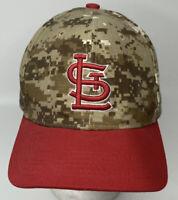 St. Louis Cardinals Digital Camo SGA Adjustable Hat Cap