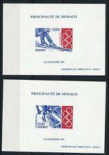 T6397 - MONACO - Blocs Spéciaux  N° 21 et 22 Neufs** J-O 1994