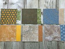 Stampin' Up! 6X6 World of Good Designer Series Paper DSP cards scrapbook