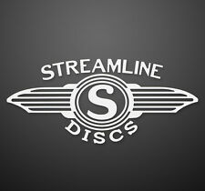 NEW Streamline Disc Golf Vinyl Window Sticker