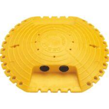 Markierungsnagel Typ C 2 Reflexlinsen beidseitig gelb Kunststoff Ø120mm