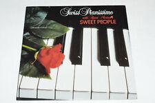 ALAIN MORISOD & SWEET PEOPLE Swiss Pianissimo LP 1986 NEW SEALED Piano Music