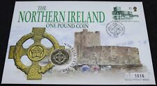 More details for 1996 | the northern ireland one pound coin fdc | first day covers | km coins
