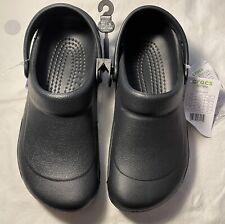 New Women's CROCS Black Shoes Clogs Size 7 FREE SHIPPING