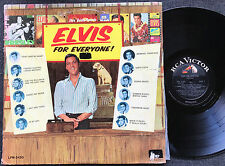 ELVIS PRESLEY - ELVIS FOR EVERYONE Very rare 1965 US MONO LP Release!