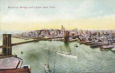 NEW YORK CITY – Brooklyn Bridge and Lower New York