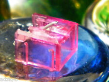 ♫ STYLET DIAMANT ZAFIRA REMPLACEMENT AIWA A N 36 / APD  35 ROUGE TRANSPARENT ♫