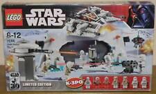 Lego Star Wars 7666 Hoth Rebel Base mit Figuren Anleitung und OVP 100% komplett