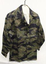 Vietnam era Tiger Stripe Fatigue Shirt - Heavy Weight, Sparse Pattern
