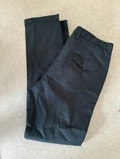 Jaeger Men's Navy Blue Trousers Size 34 R