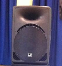 "Ld Systems Revolver 15"" Passive Speaker PAIR With Covers"