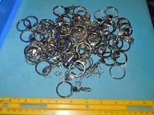 """Lot of 57 - Keychain Split Ring 1 1/8"""" Heavy Key Ring keyring"""