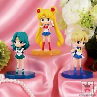 Sailor Moon Q posket petit vol.3 all 3 set Uranus Neptune BANPRESTO figure